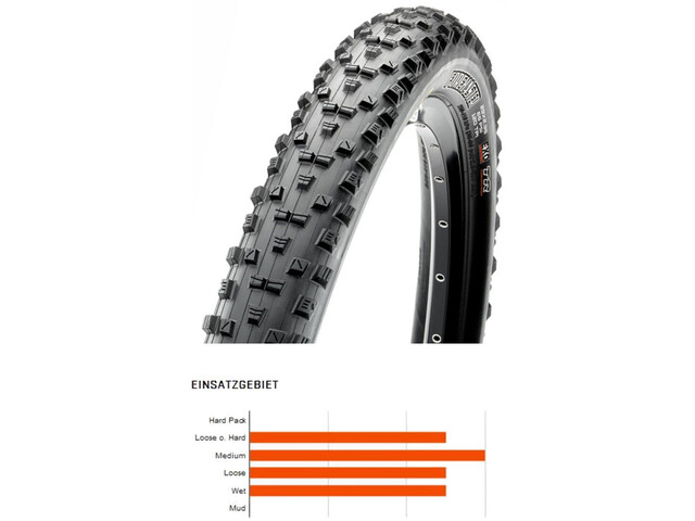 """Maxxis Forekaster Folding Tyre 29"""" Dual TR EXO"""